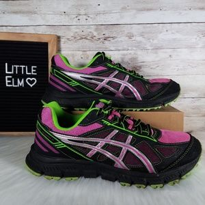 Asics gel-scram 2 trail running shoes women's 10